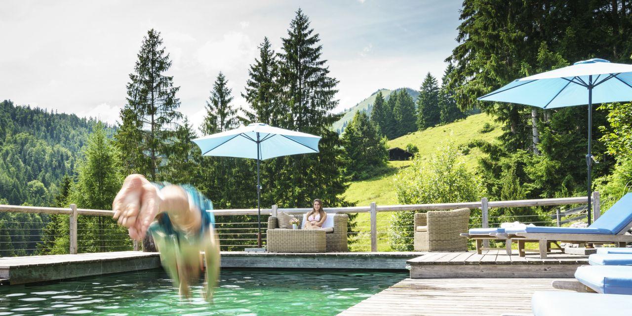 Der Pool im Sillberghaus