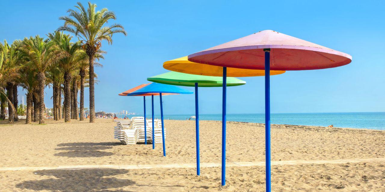 Torremolinos Strand Playa El Bajondillo