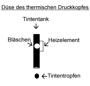 Thermo druckkopf.996048