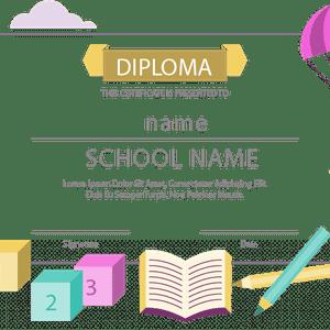 School Certificate Generator