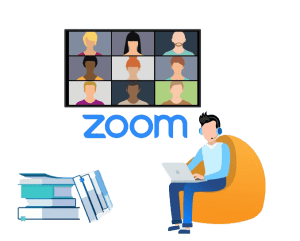 Online learning and online meeting for schools