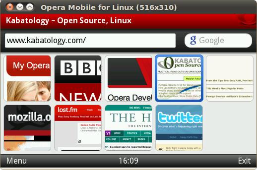 Opera Mobile Classic Emulator