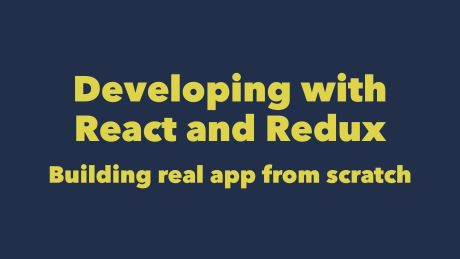 Building app with React and Redux