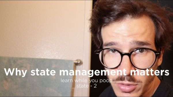 Swizec's Learn While You Poop is back! All about state management