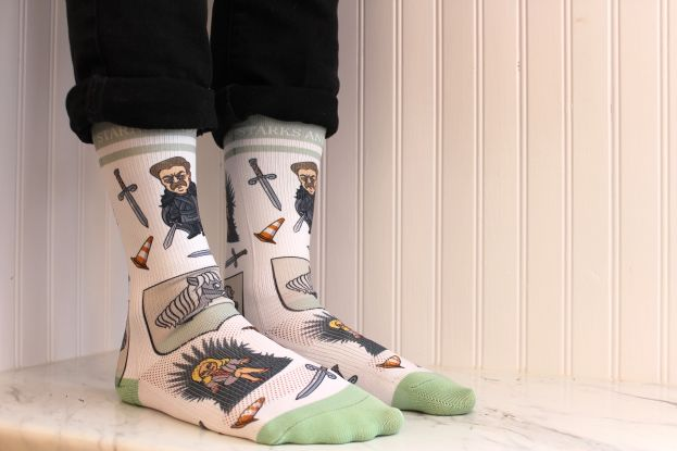 Ron Swanson sock