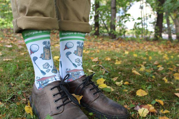 Golf lover sock