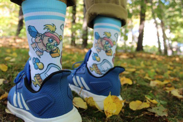 gym rat parent socks
