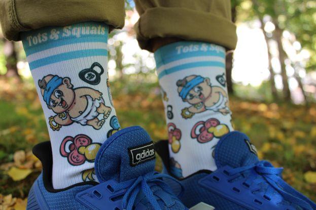 tots and squats socks