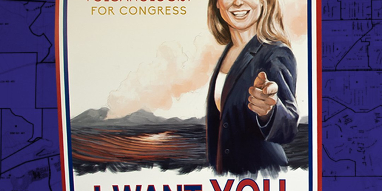 Inside a volcano scientist's campaign for congress