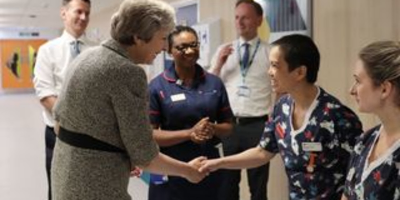 Theresa May reported to ad watchdog over 'Brexit dividend' for NHS claim reports Sky News