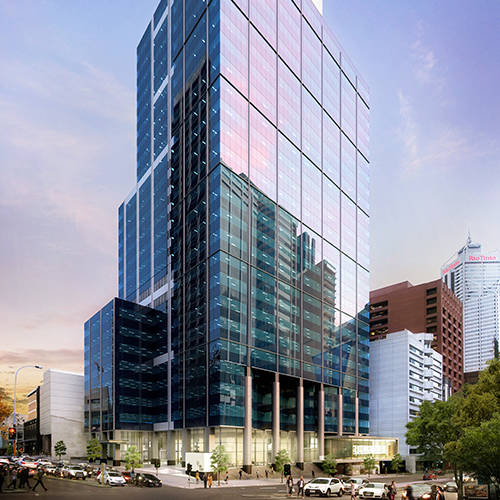 Office & Industrial Project - 240 St Georges Terrace, Perth, Western Australia by Hames Sharley