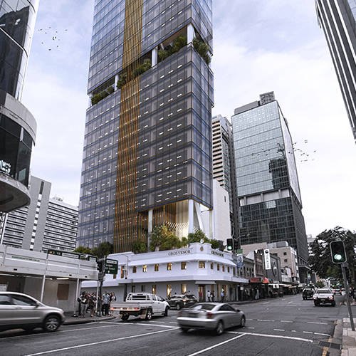Workplace Project - 320 George Street, Brisbane by Hames Sharley