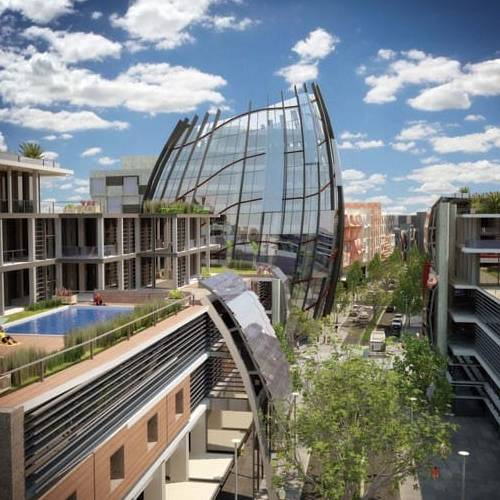 Urban Development Project - Bentley Technology Precinct, Bentley, Western Australia by Hames Sharley