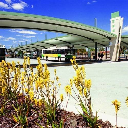 Public & Culture Project - Booragoon Bus Interchange, Booragoon, Western Australia by Hames Sharley