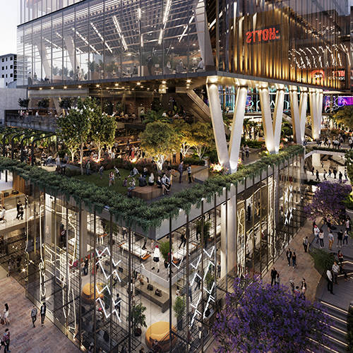 Retail & Town Centres Project - Carillon City Redevelopment, Perth CBD, Western Australia by Hames Sharley