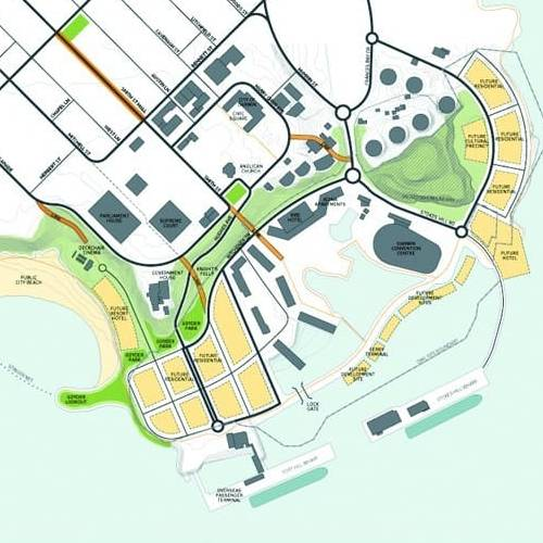 Urban Development Project - Darwin Waterfront Review and Development Framework, Darwin, Northern Territory by Hames Sharley