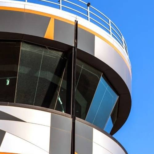 Defence Project - RAAF Base Edinburgh Air Traffic Control Tower, Edinburgh, South Australia by Hames Sharley