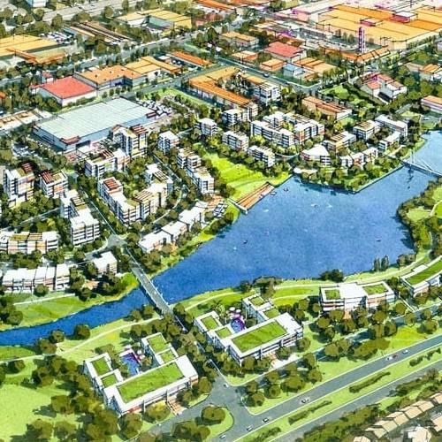 Urban Development Project - Greenway Precinct Master Plan, Tuggeranong, Australian Capital Territory by Hames Sharley