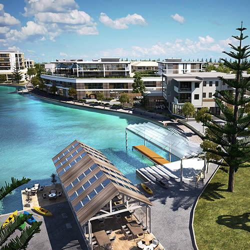 Urban Development Project - Port Geographe Urban Design Review & Marine Village Concept, Busselton, Western Australia by Hames Sharley