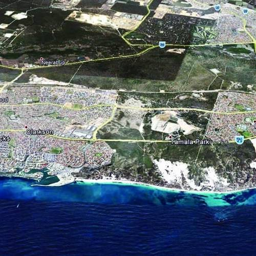 Urban Development Project - Perth Metropolitan Coastal Planning Study, The Coast from Burns Beach to Jindalee, Western Australia by Hames Sharley