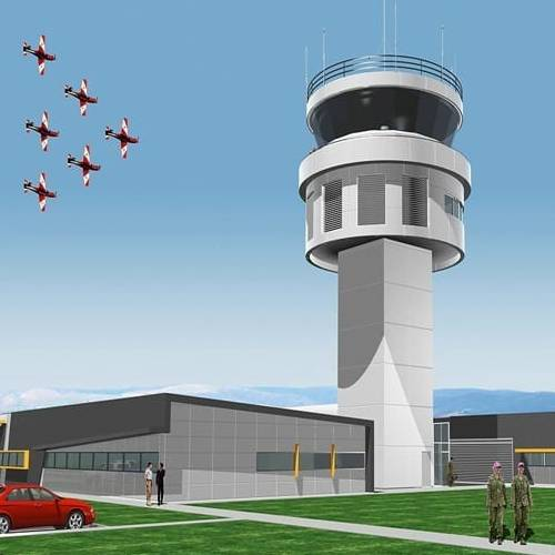 Defence Project - RAAF East Sale Air Traffic Control Tower, East Sale, South Australia by Hames Sharley