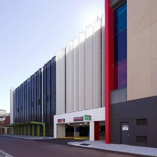 Public & Culture Project - Reid Promenade Car Park, Joondalup, Western Australia by Hames Sharley