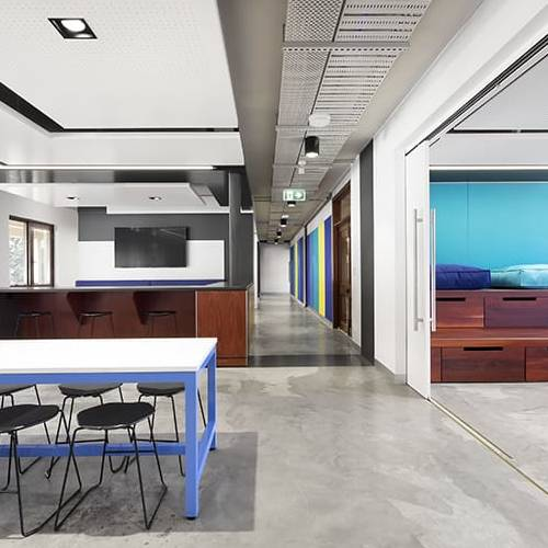 Workplace Project - UWA Student Guild Central Hub, Crawley, Western Australia by Hames Sharley