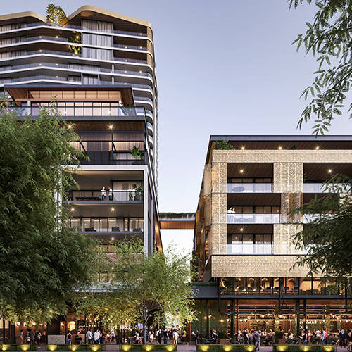 Urban Development Project - The Subiaco Pavilion Markets Site Rejuvenation, Subiaco Western Australia by Hames Sharley