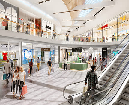 Hames Sharley News Article: Karrinyup Shopping Centre's new Fashion Loop opens