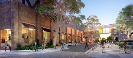 Hames Sharley News Article: Marrickville Metro development underway