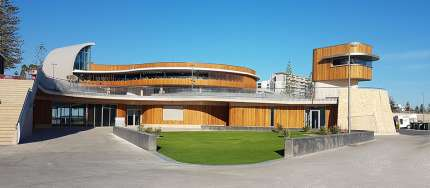 Hames Sharley News Article: Surf Club unveiled in Western Australia