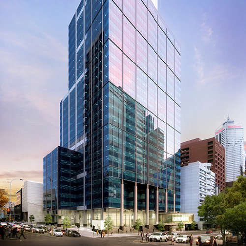 Office & Industrial Project - 240 St Georges Terrace by Hames Sharley
