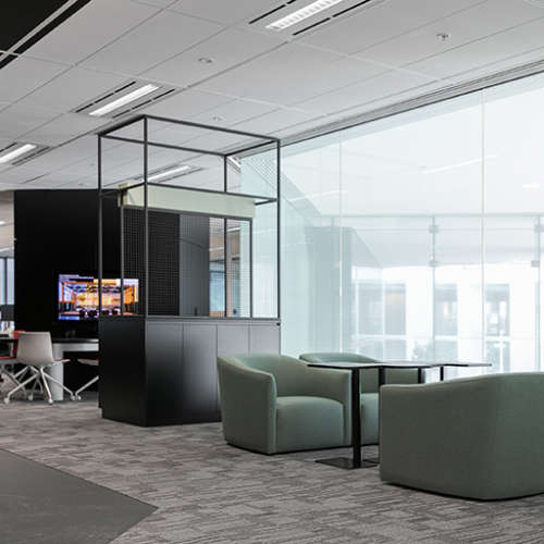 Workplace Project - ARUP Workplace Interiors by Hames Sharley