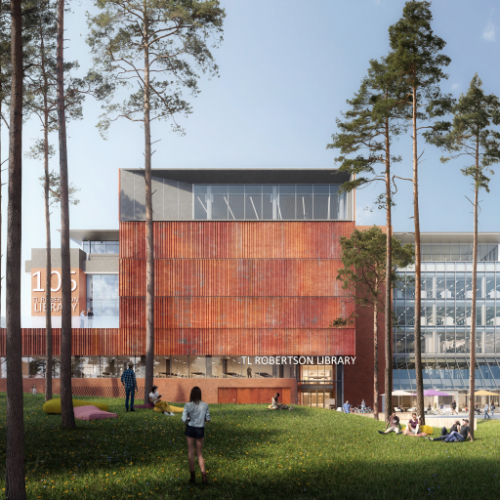 Education, Science & Research Project - TL Robertson Library Curtin University by Hames Sharley
