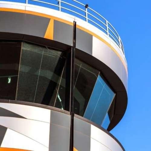 Defence Project - RAAF Base Edinburgh Air Traffic Control Tower by Hames Sharley