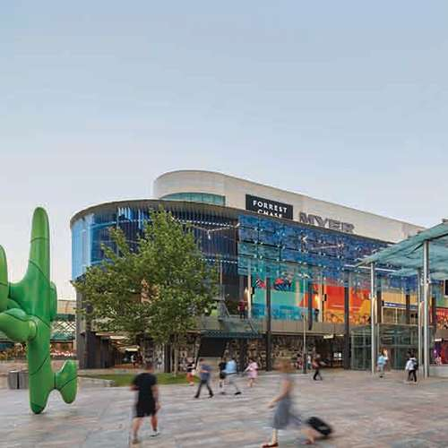 Retail & Town Centres Project - Forrest Chase Redevelopment by Hames Sharley
