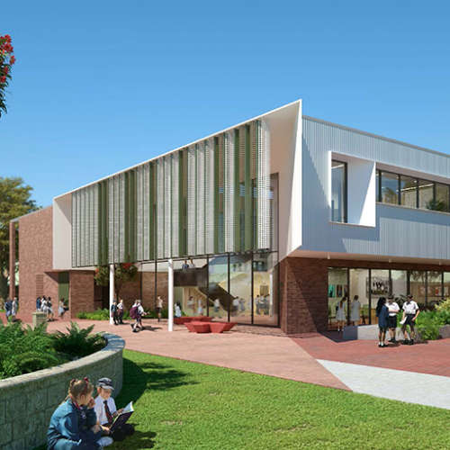 Education, Science & Research Project - John Septimus Roe Anglican Community School by Hames Sharley