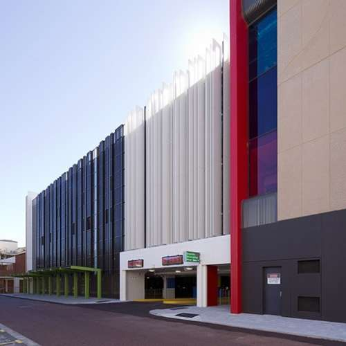 Public & Culture Project - Reid Promenade Car Park by Hames Sharley