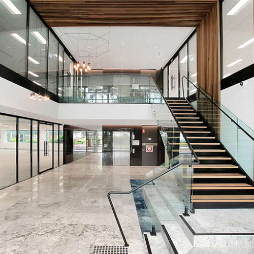 Office & Industrial Project - Figtree Drive Refurbishment by Hames Sharley