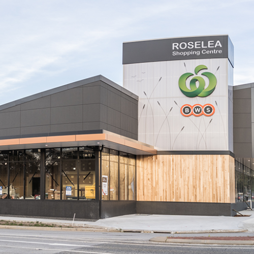 Retail & Town Centres Project - Roselea Shopping Centre by Hames Sharley