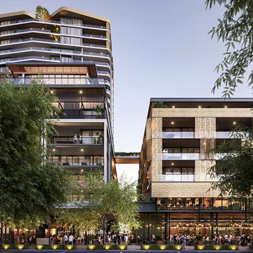 Residential Project - The Subiaco Pavilion Markets Site Rejuvenation - One Subiaco by Hames Sharley