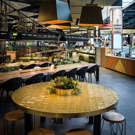 Retail & Town Centres Project - Broadway Level 2; Food and Fashion Fusion precinct by Hames Sharley
