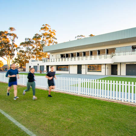 Sport & Recreation Project - Campbelltown Memorial Oval by Hames Sharley