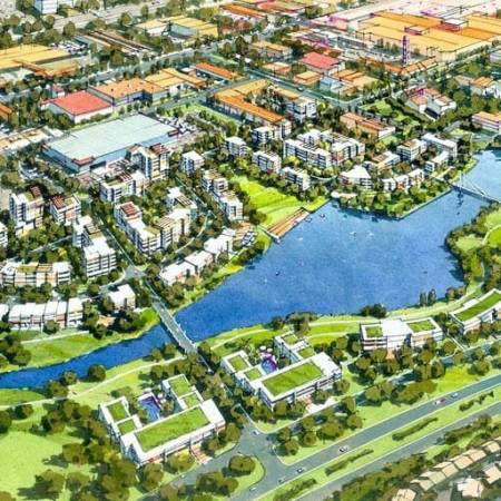 Urban Development Project - Greenway Precinct Master Plan by Hames Sharley
