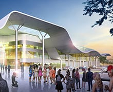 Thumbnail for the article 'Perth's Belmont Park Grandstand plans revealed'