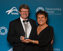 Thumbnail for the article 'Top honours at Newcombe Medal for Hames Sharley Director'
