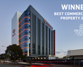 Thumbnail for the article 'NEXTDC P2 named Best Commercial Property in WA Property Council Awards'