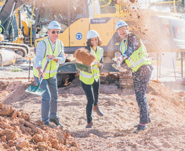 Thumbnail for the article 'Ground breaking ceremony takes place at Scotch College Wellbeing & Sports Centre Adelaide'