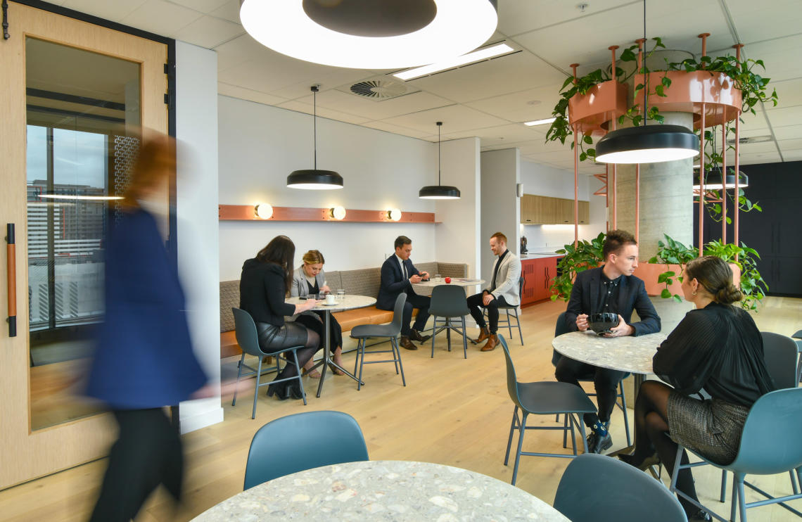 Finlaysons communal space interior design