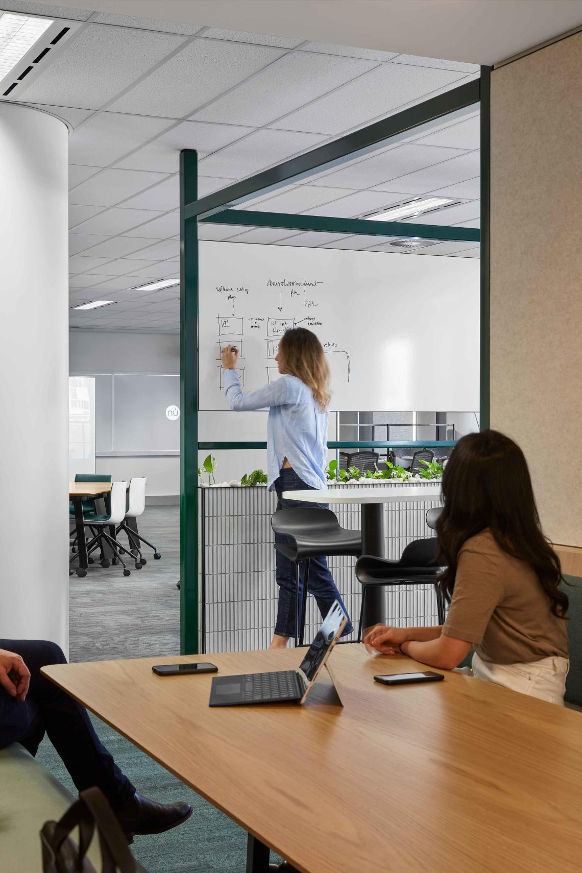 Collaborative workspace at One40 William St in Perth